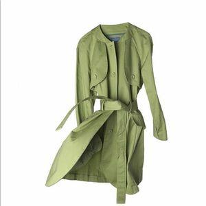 Size Medium, Simply Vera  Green Trench Coat